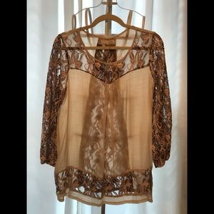 Boutique lace top